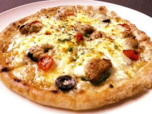 カタラットのピザ